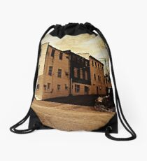 Corner in Mars Hill Drawstring Bag