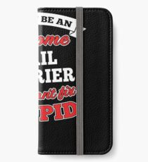 MAIL CARRIER T-shirts, i-Phone Cases, Hoodies, & Merchandises iPhone Wallet/Case/Skin