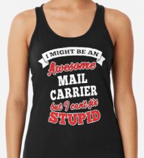 MAIL CARRIER T-shirts, i-Phone Cases, Hoodies, & Merchandises Women's Tank Top