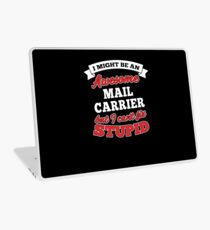 MAIL CARRIER T-shirts, i-Phone Cases, Hoodies, & Merchandises Laptop Skin