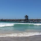 San Clemente, California pier.......... by DonnaMoore