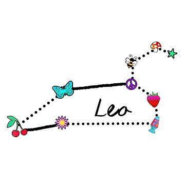 Trippy Leo Constellation by lolosenese
