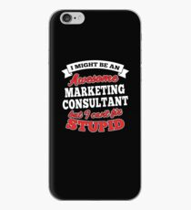 MARKETING CONSULTANT T-shirts, i-Phone Cases, Hoodies, & Merchandises iPhone Case