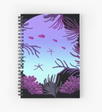 Round Reef - ohms' Custom Worms Armageddon Level Spiral Notebook