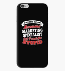 MARKETING SPECIALIST T-shirts, i-Phone Cases, Hoodies, & Merchandises iPhone Case