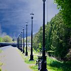 Walkway on the Thames by Yukondick