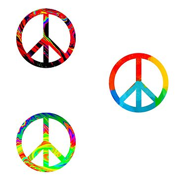 peace sign sticker pack! by lolosenese