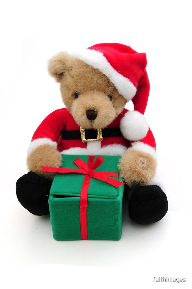Santa bear by faithimages