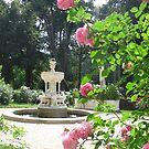 Garden of the Lancut palace by Elena Skvortsova