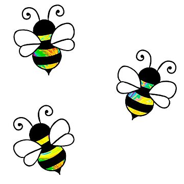 3 bees by lolosenese