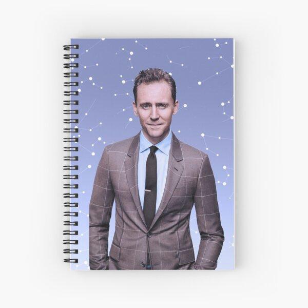 Tom Hiddleston Spiral Notebook Spiral Notebook