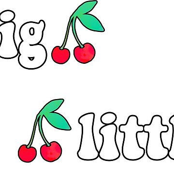 big little cherry sticker pack by lolosenese