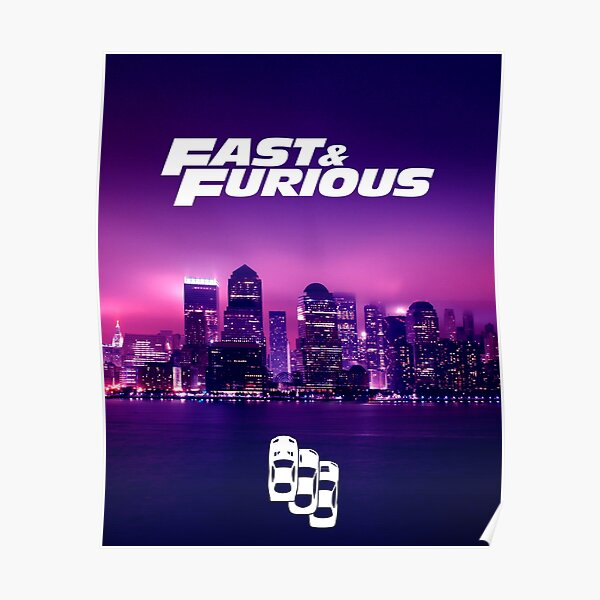 Fast & Furious - New York Poster
