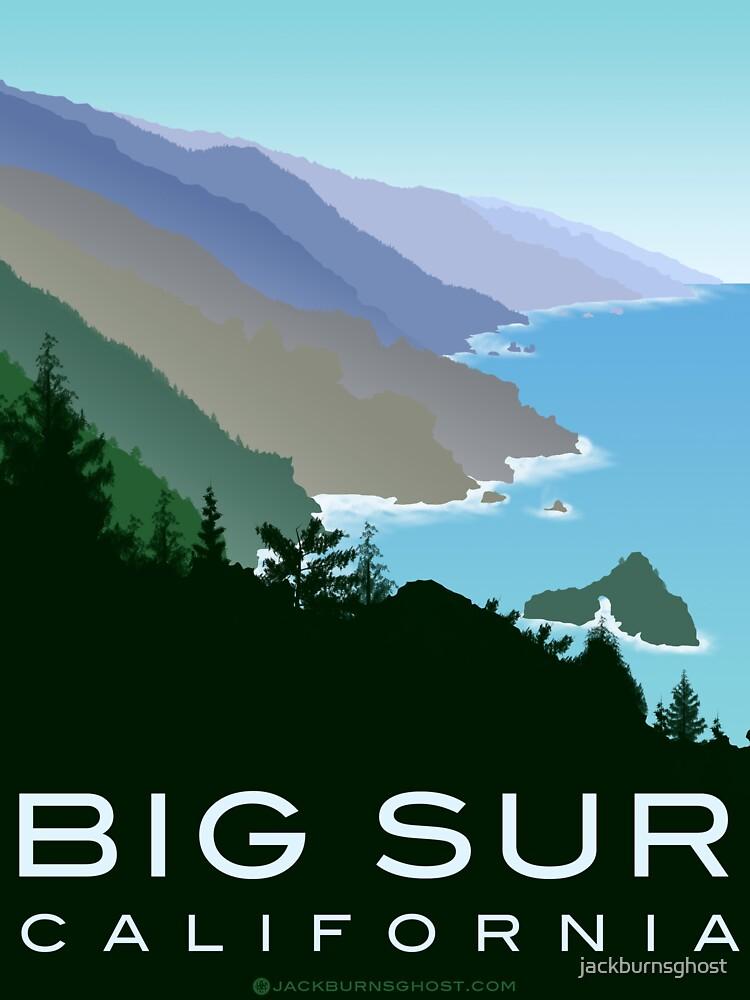 Big Sur California by jackburnsghost