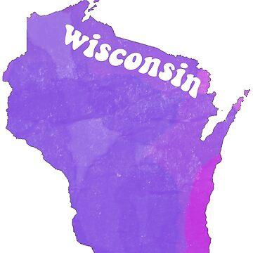 wisconsin purpleeee by lolosenese