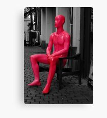 Neon Man* Canvas Print