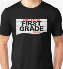 First Day Of First Grade T-shirt Unisex T-Shirt