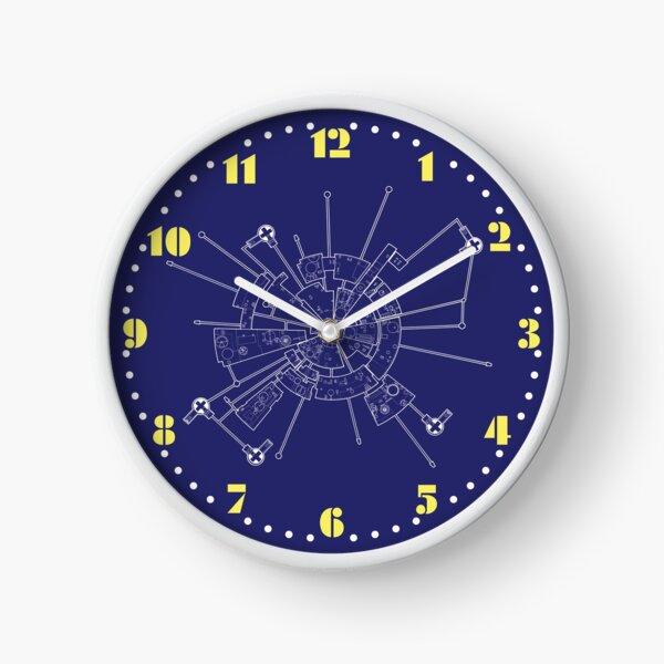 ESPACE 1999 HORLOGE 2: DIAGRAMME ALPHA MOONBASE Horloge