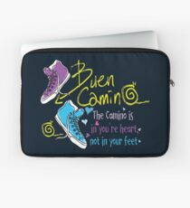 The camino is in you're heart Laptop Sleeve