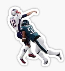 Super Bowl VII - Tom Brady Sack Sticker