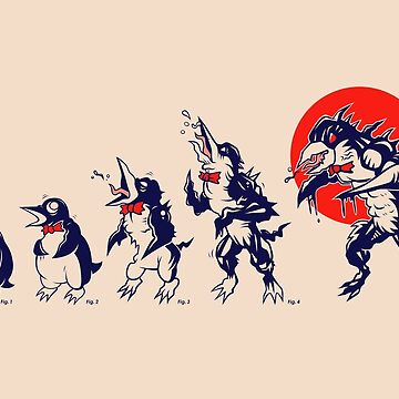 Penguin Transformation by strangethingsA