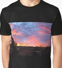 Panoramic Sunrise Graphic T-Shirt
