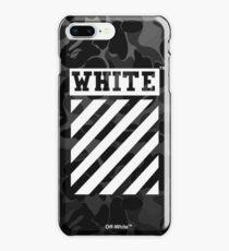 Off-White Bape Camo Black iPhone 8 Plus Case