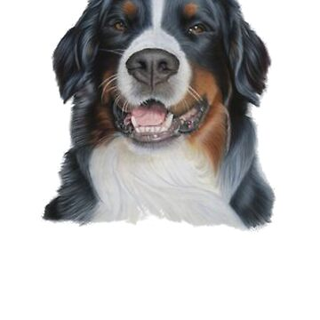 Bernese Mountain Dog Shirt - Gift For Dog Lovers by Galvanized