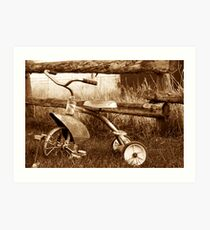 Antique Tricycle Art Print