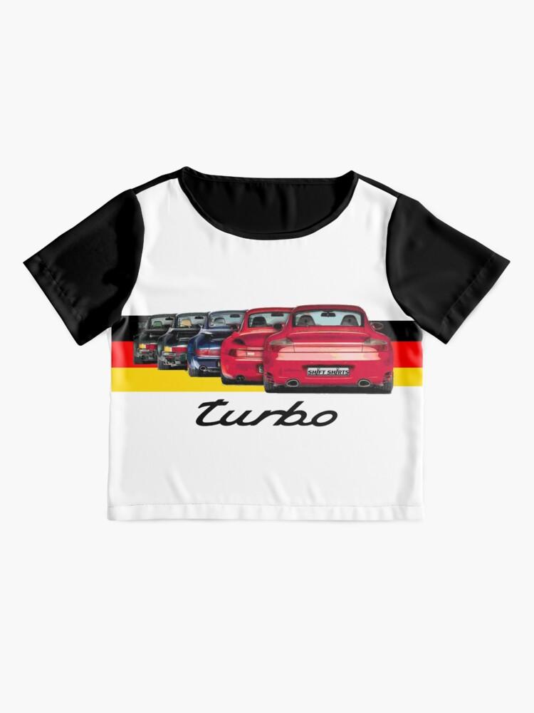 Alternate view of Shift Shirts Turbo Generations – 911 Turbo Inspired Chiffon Top