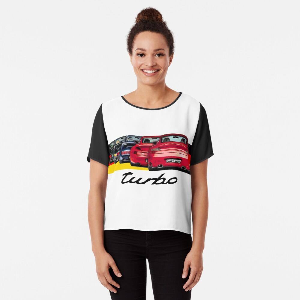 Shift Shirts Turbo Generations – 911 Turbo Inspired Chiffon Top