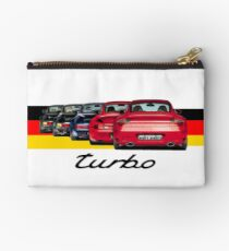 Shift Shirts Turbo Generations – 911 Turbo Inspired Studio Pouch