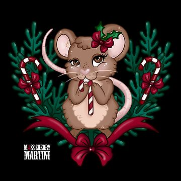 Christmas Mouse by CherryMartini
