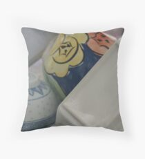 Saturday Dishes Series - The Bowls Throw Pillow