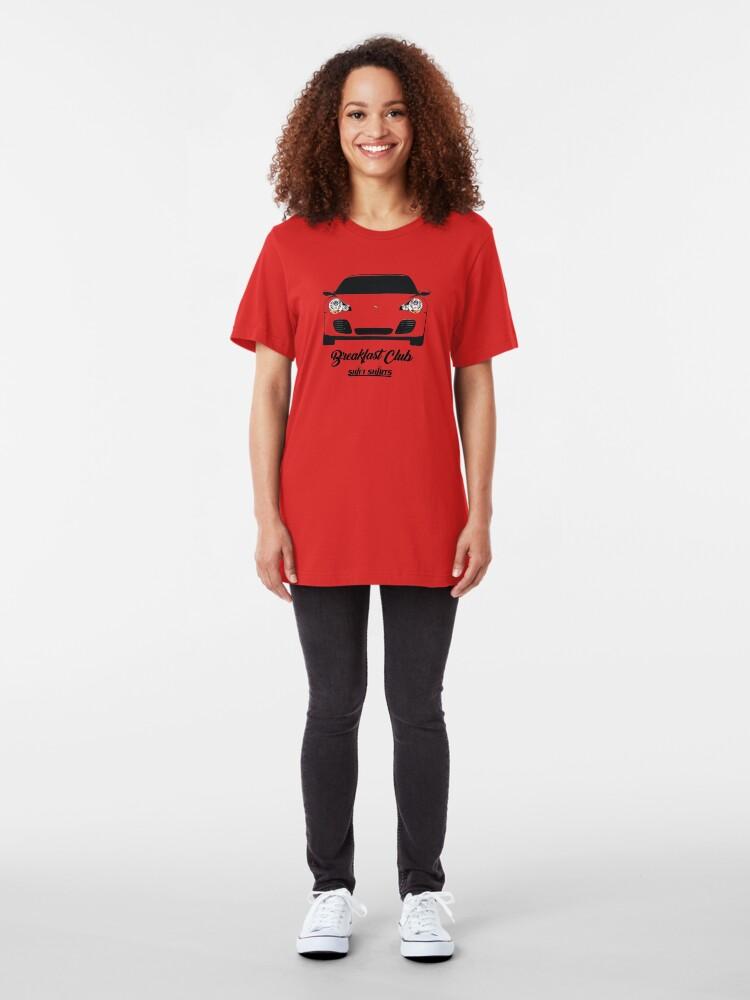 Alternate view of Shift Shirts Breakfast Club – 996 Turbo Inspired Slim Fit T-Shirt