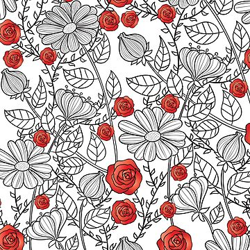 Red Roses by TwinPowerTammy