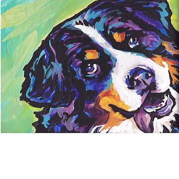 Bernese Mountain Dog Painting - Gift For Dog Lovers by Galvanized