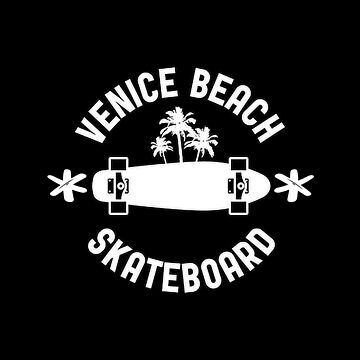Venice Beach, California, Skateboard by metropol