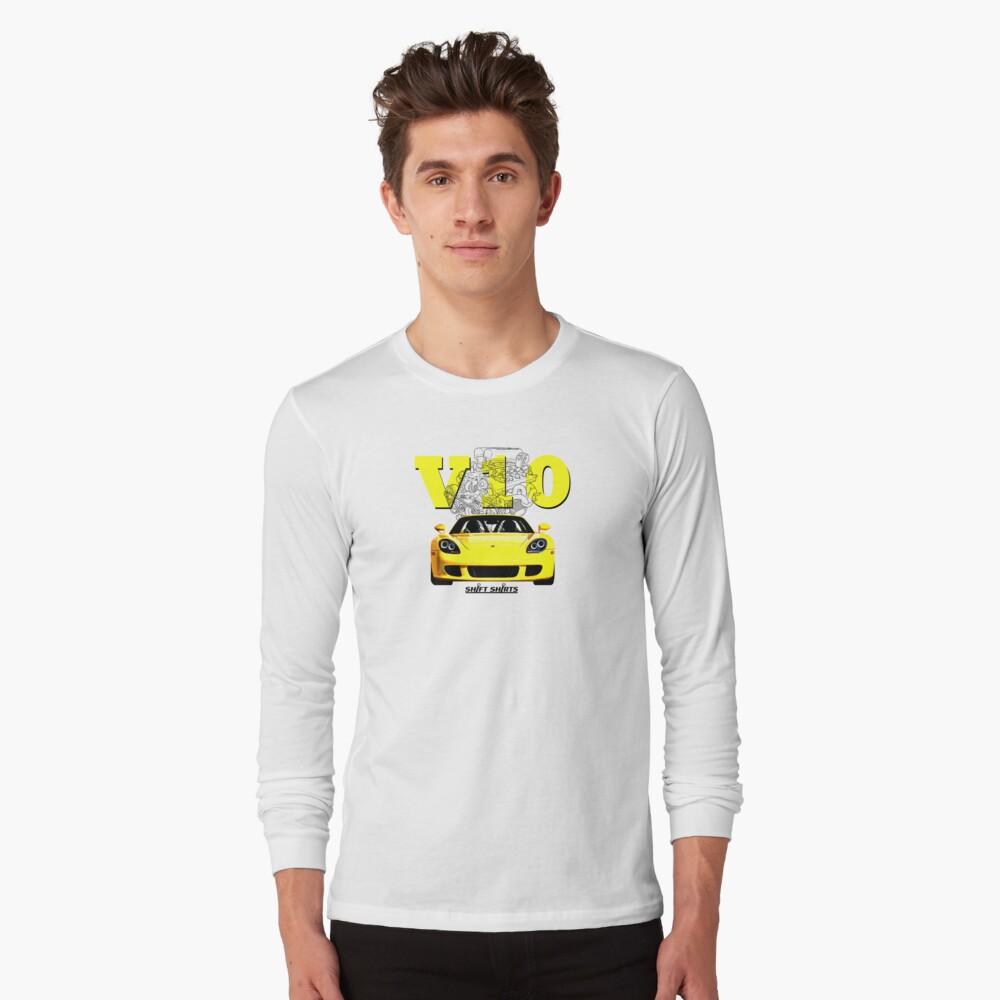 Shift Shirts V10 Music - Carrera GT Inspired Long Sleeve T-Shirt