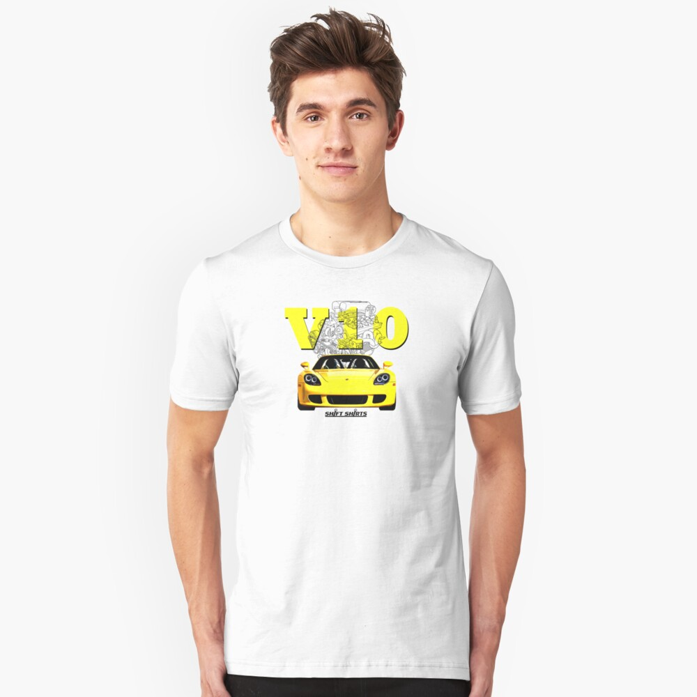 Shift Shirts V10 Music - Carrera GT Inspired Unisex T-Shirt
