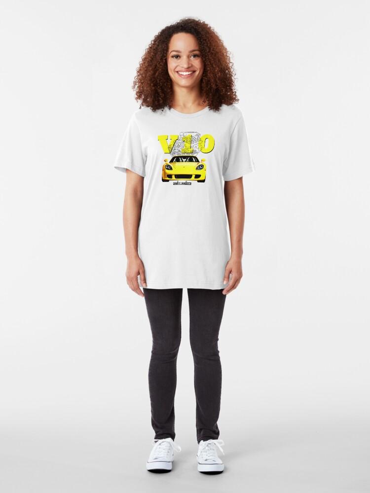 Alternate view of Shift Shirts V10 Music - Carrera GT Inspired Slim Fit T-Shirt