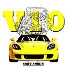 Shift Shirts V10 Music - Carrera GT Inspired by ShiftShirts