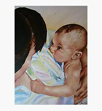 Bonding and Breastfeeding Photographic Print