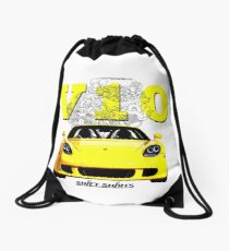 Shift Shirts V10 Music - Carrera GT Inspired Drawstring Bag