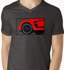 Shift Shirts Modern Muscle - Ford Mustang Boss 302 Inspired Men's V-Neck T-Shirt