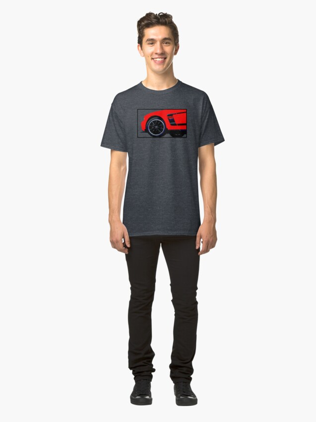 Alternate view of Shift Shirts Modern Muscle - Ford Mustang Boss 302 Inspired Classic T-Shirt