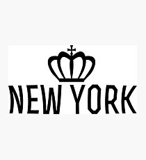 New york crown Photographic Print