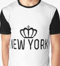 New york crown Graphic T-Shirt