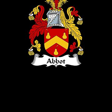 Abbot Coat of Arms - Family Crest Shirt by FamilyCrest