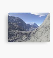 Mountainous landscape Canvas Print
